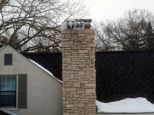 metal chimney flue holmlund masonry restorations