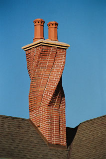 The cement cap and the top two feet are the most important part of the chimney because this is the most exposed to the weather and always the first area to deteriorate.